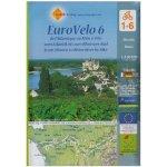 EuroVelo 6 Map, Huber Verlag
